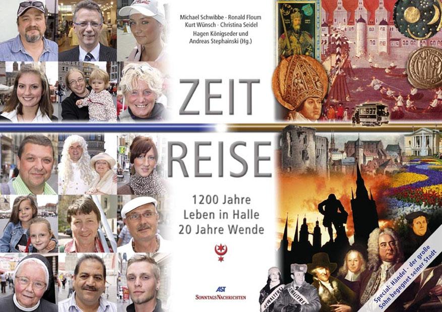 Buchtitel: 1200 Jahre Leben in Halle