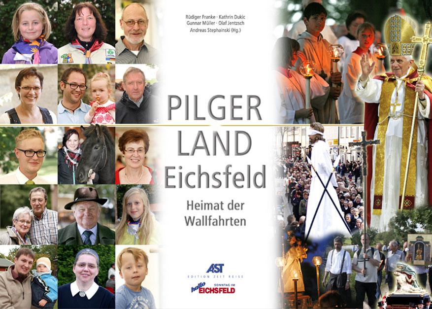 Buchtitel: PILGER LAND Eichsfeld