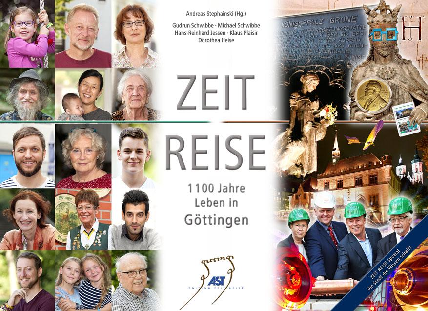 Buchtitel: 1100 Jahre Leben in Göttingen